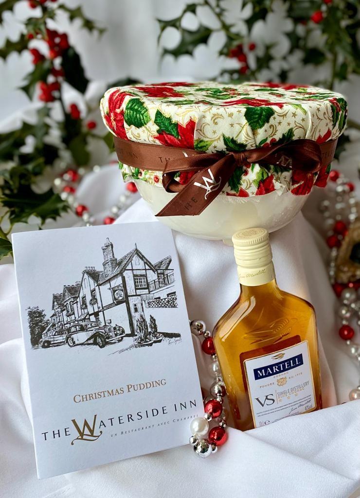 Alain Roux's Christmas Pudding